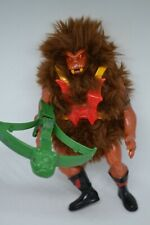 Vtg MOTU He-man Masters Of The Universe ~ Grizzlor ~ Action Figure Complete