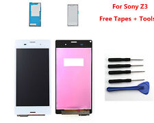LCD Display Touch Screen Digitizer for Sony Xperia Z3 D6603 D6643 D6653 White