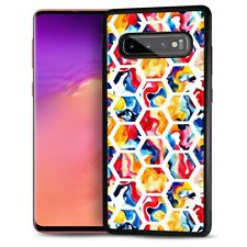 ( For Samsung S8 ) Back Case Cover AJ12602 Abstract Cell