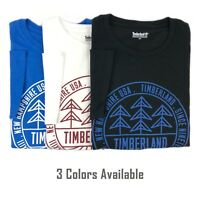 Timberland Men's Short Sleeve Basic Cotton T-Shirt A1NSG