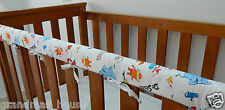Baby Cot Crib Rail Cover Teething Pad Dr Seuss Characters On White **REDUCED**