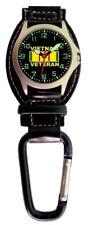 Aqua Force Vietnam Veteran Carabiner Watch (30m Water Resistant)