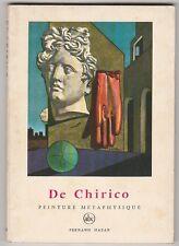 De Chirico Peinture métaphysique W. Helvig Petite encyclopédie de l'art ABC N°46