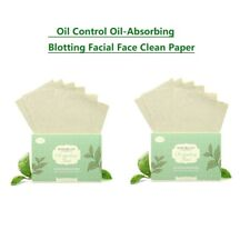 New listing 2*100Sheets Makeup Oil Control Oil-Absorbing Blotting Facial Face Clean Paper