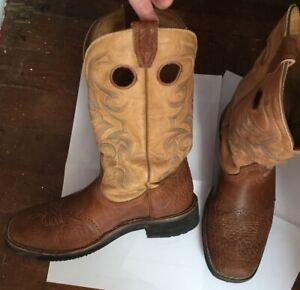 Men's Boulet Cowboy Boots size 12D/11 3E
