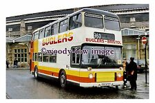 pu0482 - Bugler of Bristol Bus - YDL 673T at Bristol Temple Meads - photograph