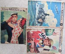 Vintage Toronto Star Weekly Magazine World War 11 Issues 1941 1942 1943 Canada