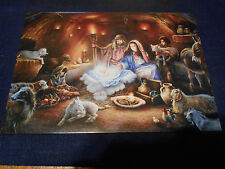 LOT OF 5 ''NO ROOM IN THE INN'' CHRISTMAS CARDS