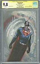 Superman #1 CGC 9.8 SS Italian Museum Edition Variant Dell'Otto Virgin Cover