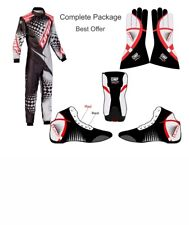 New Omp Karting Suit/Sublimation Cik/Fia Level 2 (Free gifts included)