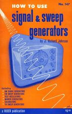How To Use Signal & Sweep Generators (1953) - A Rider Publication - CD
