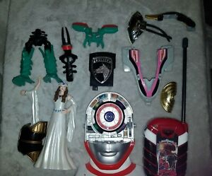 Power Rangers classic Accessories lot 2