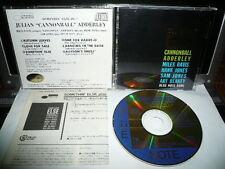 JULIAN CANNONBALL ADDERLEY SOMETHIN ELSE JAPAN 24K GOLD CD 4300yen CJ43