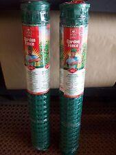 2 ROLLS of Easy Gardener Garden Fence 3 ft. x 25 ft each Green