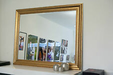 New large gold framed mirror WAS $220 NOW $170. W'sale prices. Optional delivery