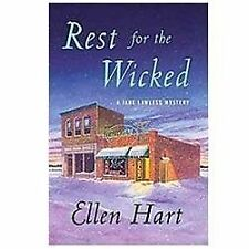 Jane Lawless Mysteries: Rest for the Wicked 20 by Ellen Hart (2012, Hardcover)