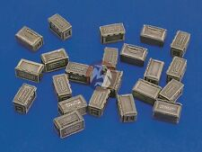 Royal Model 1/35 .50 Caliber Ammo Boxes (25 pieces) [Resin Diorama Access.] 249
