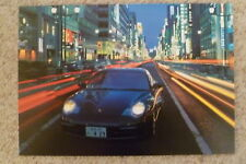 2002 Porsche 911 Carrrera Coupe Showroom Advertising Poster RARE Awesome L@@K