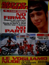 Motosprint 4 2002 Il caso Rossi: accordo salta, niente test a Sepang. Honda VTR