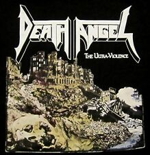DEATH ANGEL cd cvr ULTRA VIOLENCE Official Black SHIRT SMALL new
