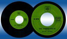 Philippines SANTANA Soul Sacrifice 45 rpm Record