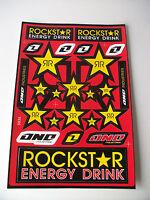 New Rockstar Kawasaki Motocross Decals Sticker Kit Kx Kxf Kdx Kl Klx Kmx Graphic