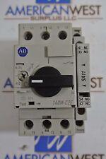 Allen Bradley 140M-C2E-B63 ser B 50A 3P motor circuit protector 4-6.3 amp