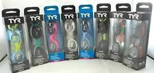 Tyr Velocity Adult Fit Swim Goggles Swimming Low Profile Free Expedited Shipping