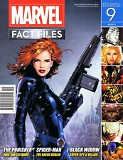 Marvel Fact Files #9, Eaglemoss, Black Widow, Punisher, Spiderman, Green Goblin