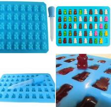 50 Gummy Maker Cavity Bear Mold Novelty Silicone Chocolate Candy Ice Tray Charm