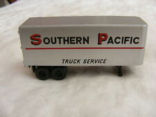 Vintage Ho Scale Southern Pacific 25' Trailer b