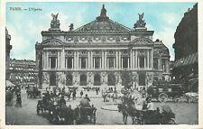 75 PARIS L'OPERA ANIME - CALECHES - 4552