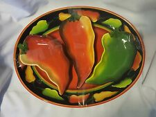 Clay Art 'Jalapeno' Platter and Serving Dishes