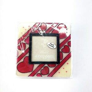 Joan Baker Hand Painted Magnetic Photo Frame- Hearts