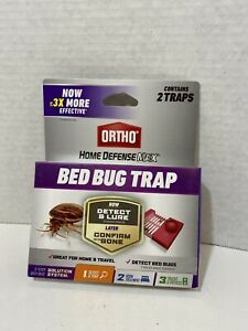 Ortho Home Defense MAX Bed Bug Traps-2 Traps-3 Step Solution System