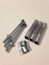 Vintage Tamiya Wild Willy M38 Original Metal Front Tubes/ Pipes With Fixings.