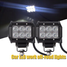 18W Cree LED Work Light Spot Beam Driving Fog Lamp Offroad Bar 4WD SUV ATV Jeep