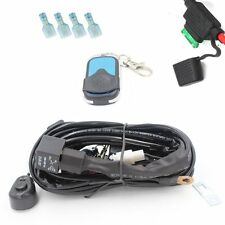 "12V 50"" Led Light Bar Wiring Harness ON-OFF-Strobe Remote Control Switch(1Lead )"