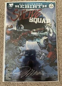 Suicide Squad # Cover A DC Rebirth 2016 Harley Quinn & Deadshot Jim Lee Signed!