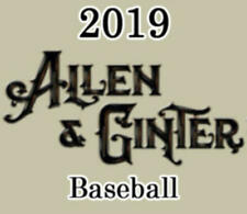 2019 Allen and Ginter (Topps) MLB Baseball Cards Pick From List 1-200
