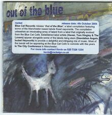 (FI207) Out Of The Blue, xx tracks various artists - 2004 DJ CD