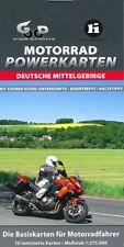 Motorrad-Powerkarten: Deutsche Mittelgebirge - mit Tourer-Guide Karten/Touren/
