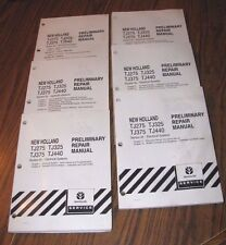 New Holland Tj440 Tj375 Tj325 Tj275 Tractor Prelimary Service Manual Sections