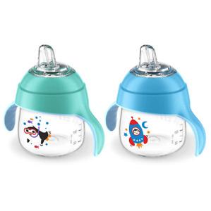 Philips Avent My Little Spout Cups 7 oz SCF751/27 - Blue/Teal