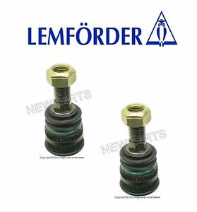 2 OEM Lemforder Left+Right front Lower Ball Joints @Arm Mid Section for Mercedes