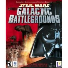 Star Wars Galactic Battlegrounds MAC CD guide Rebel Alliance or Empire RTS game!