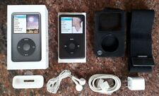 Apple iPod Classic 7th Generation Black 160 GB MC297LL/A With Box