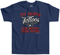 Threadrock Kids My Mom's Tattoos Are Better than Yours Toddler T-shirt Funny