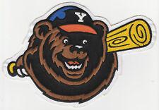 "1990-2006 YAKIMA BEARS NORTHWEST MINOR LEAGUE BASEBALL 7.5"" DEFUNCT TEAM PATCH"