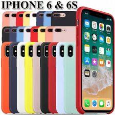 Funda Carcasa de Silicona Suave Líquida para iPhone 6 & 6S - Diseño Original